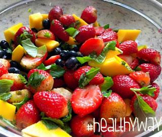 Healthy Way - Ensalada de frutas cargada en antioxidantes
